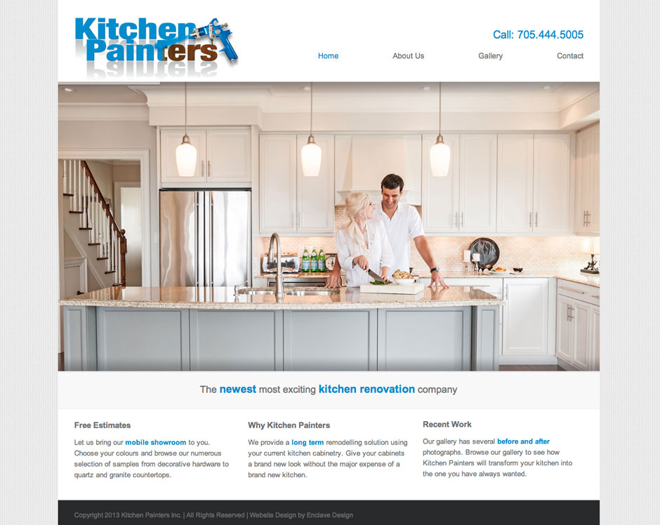 Website Design For Collingwood Company Enclave Design L Creative Business