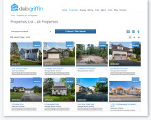 DebGriffin-website